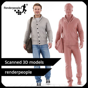 photorealistic human ben 0211 max
