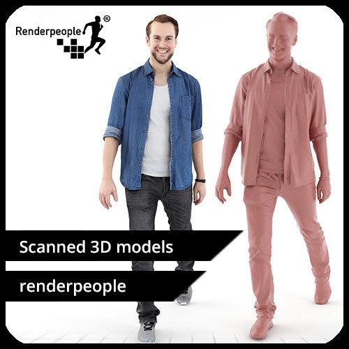 photorealistic human joscha 0120 max