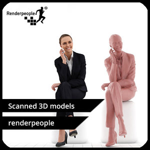 3d photorealistic human julia 0373