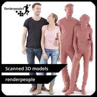 photorealistic human julia aaron 3d max