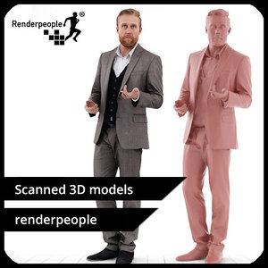 3d photorealistic human kent 0403