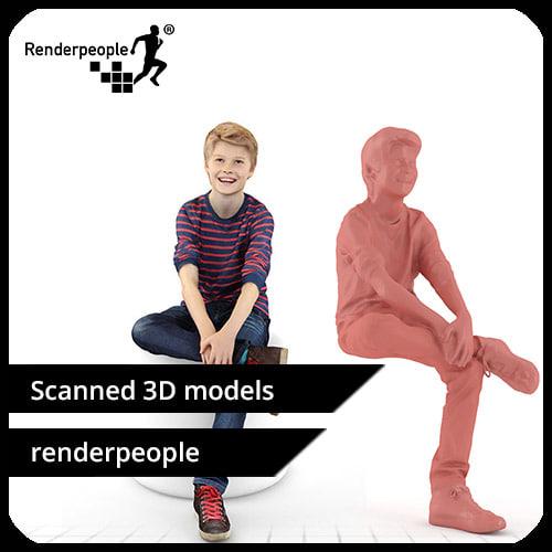 photorealistic human rob 0185 max