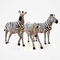 zebra rigged obj