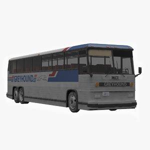 3d classic bus mci mc-12