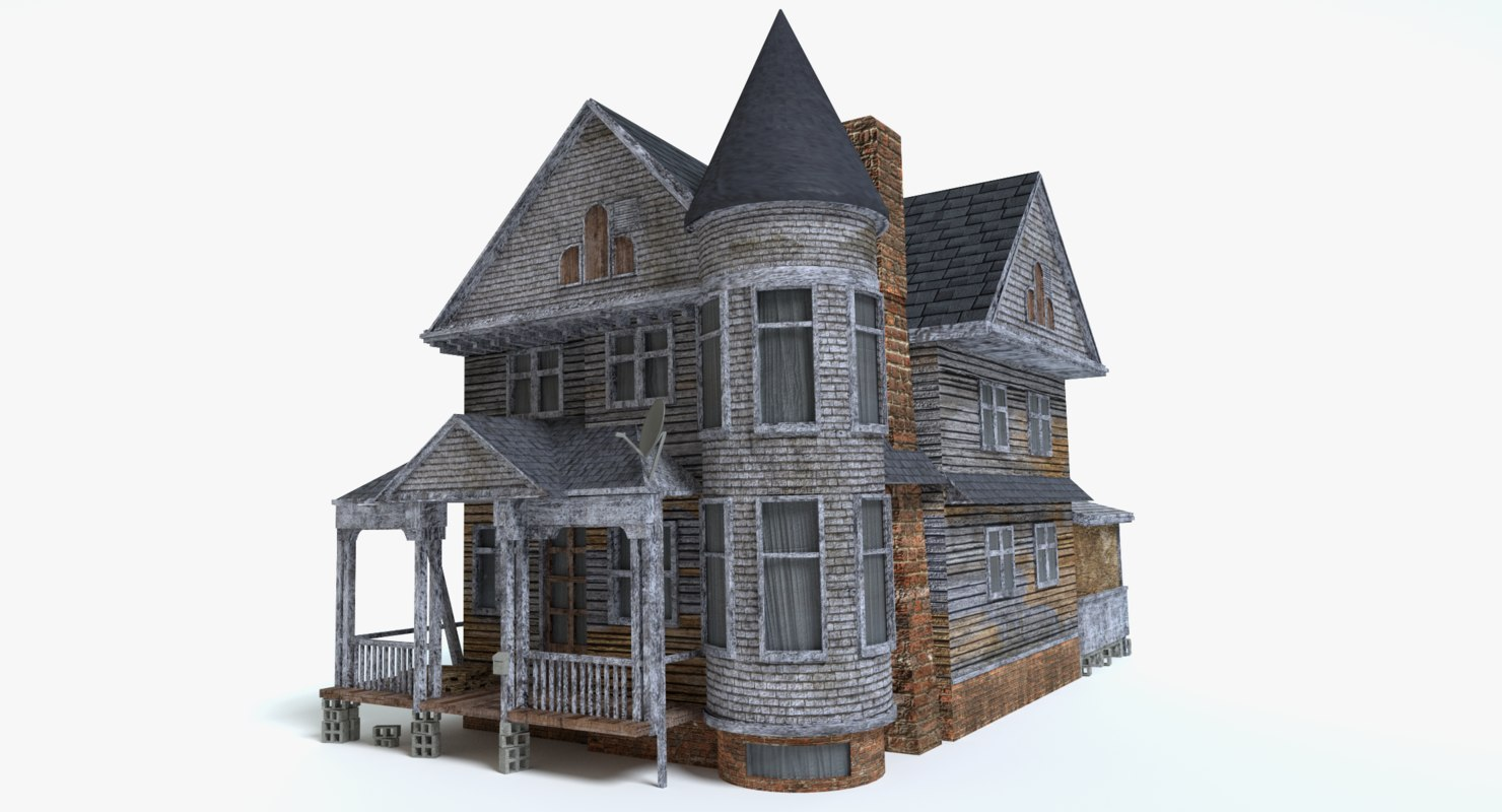old scary house 3ds