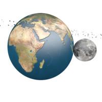3d model of solar moons