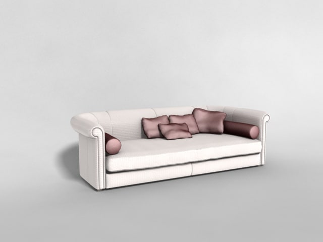 sofa furniture couch 3d model