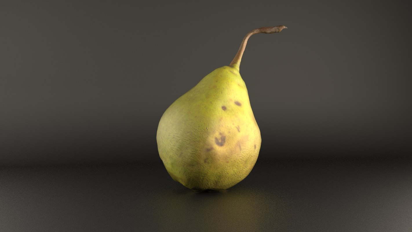 3d model pear market store
