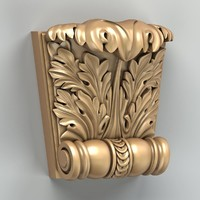 3d model carved cnc intagli3d