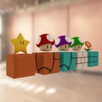 Mario bros props 02