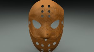 3ds hockey mask