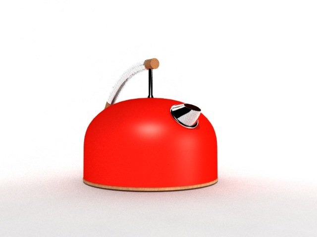 3d fbx teapot vessel herbal