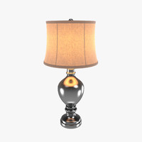 3d mercury glass urn table lamp model
