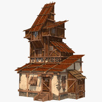 fantasy house 1 3d model