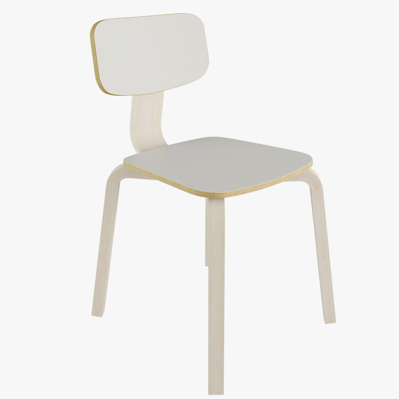 3d model charles chair