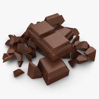 Broken Chocolate Bar (Milk)