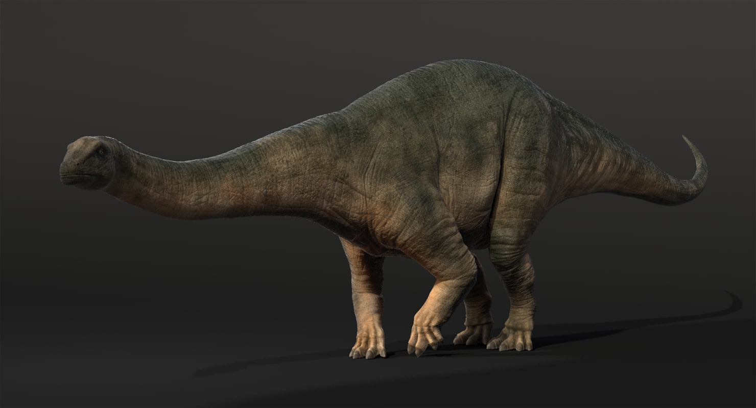 zbrush brontosaurus obj