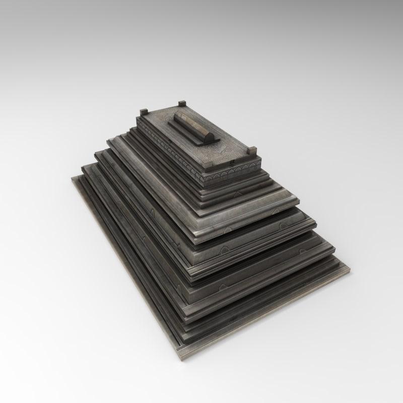 3d moqbara tomb model