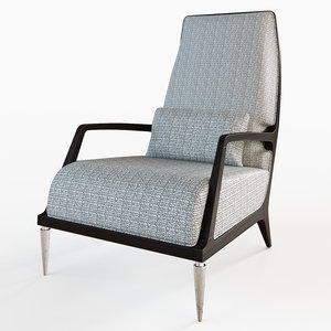 jasper lounge chair obj