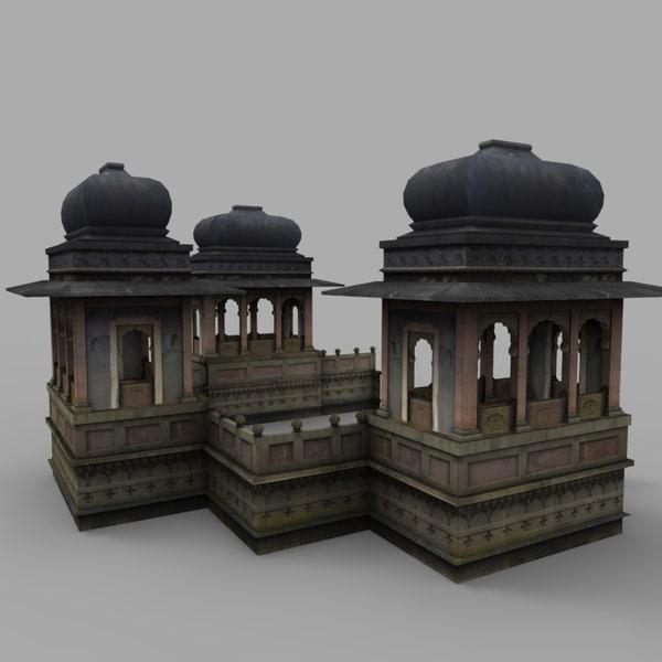 3d max temple tomb