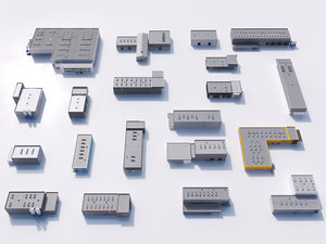 max industrial building set