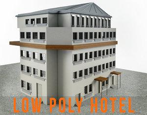 residence hotel apartment 3d model