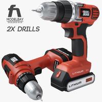 max black decker cordless drill