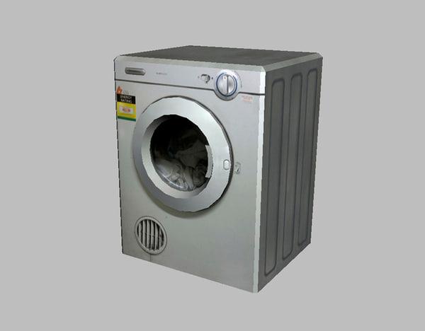 3d x laundry dryer