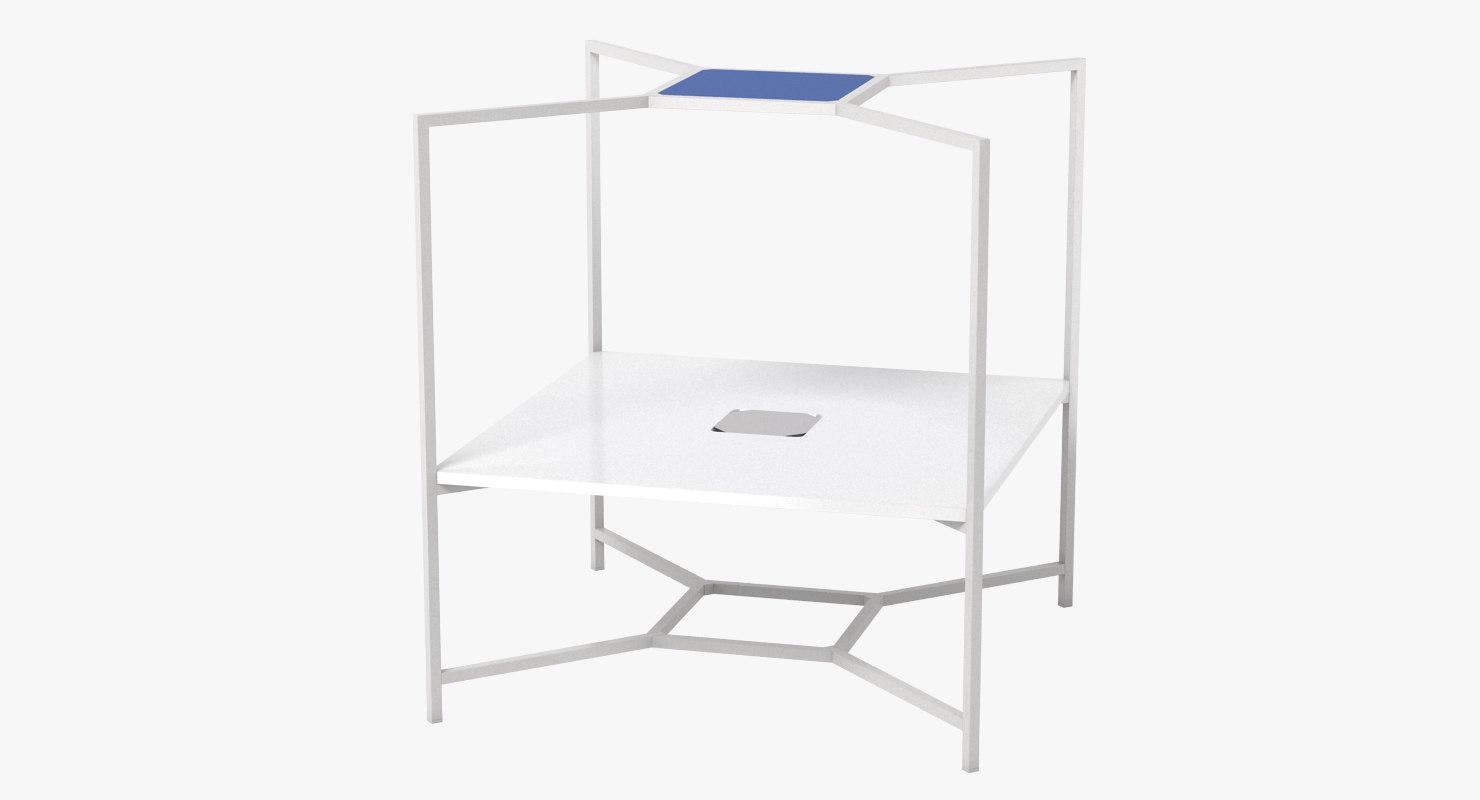 hub office table max