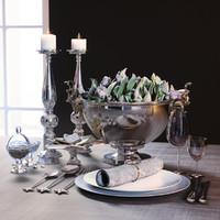 3d model dining