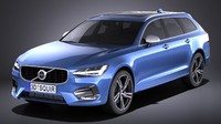 Volvo V90 Estate R design 2017
