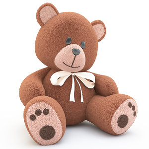 3d model teddy bear