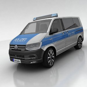 3d model of t6 polizei