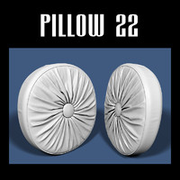 pillow interior 3d model