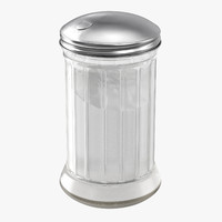 sugar canister 01 3d model
