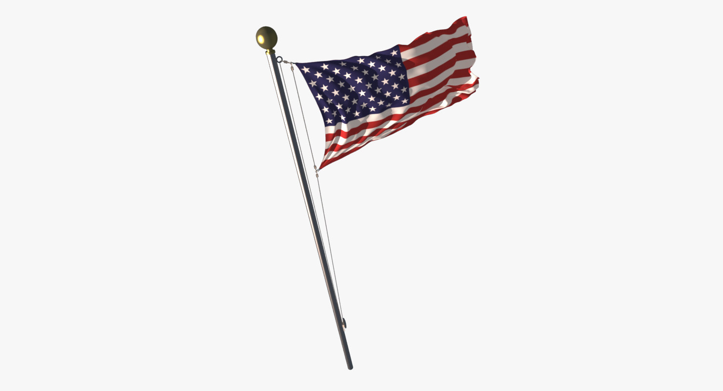 flag loop 3d max