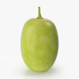 3d green grape 6