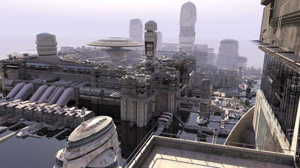 cities future 3 3d max