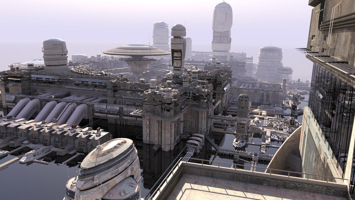 cities future 3 3d max