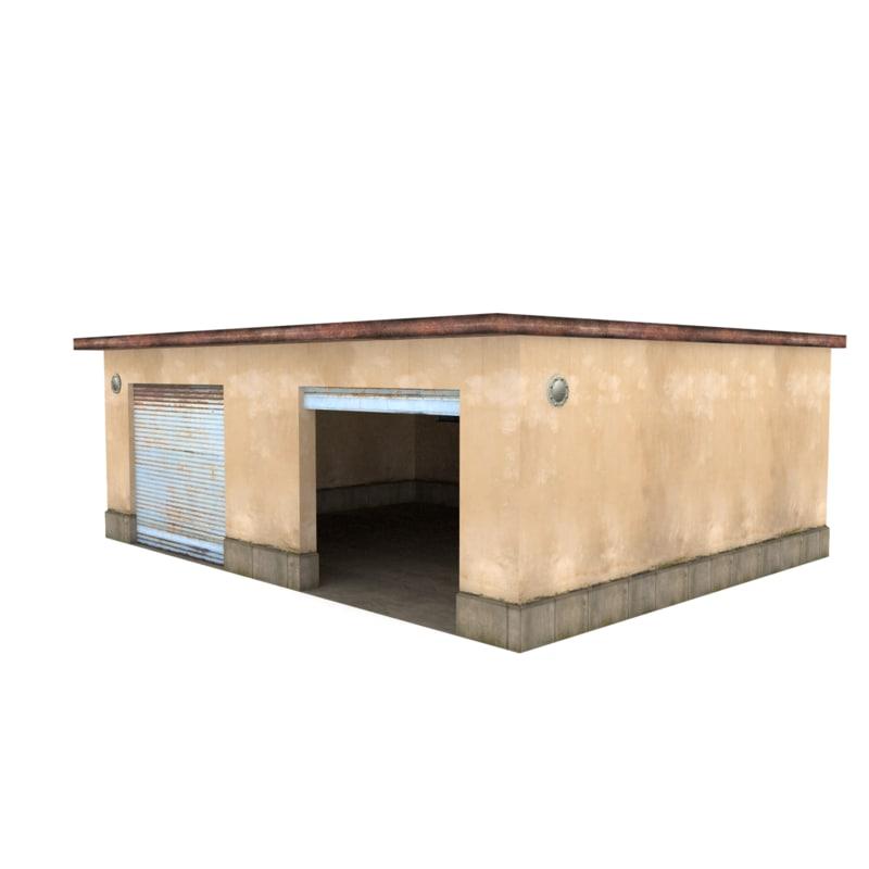 3d model repair garage
