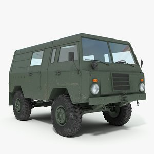 c303 - military vehicle 3d 3ds