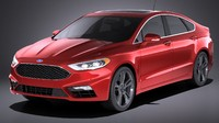Ford Fusion V6 Sport 2017