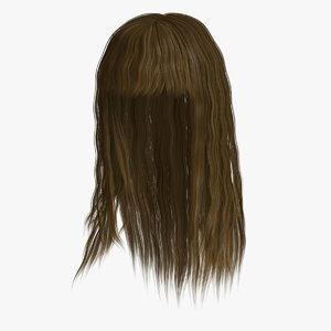 3d sandra hair