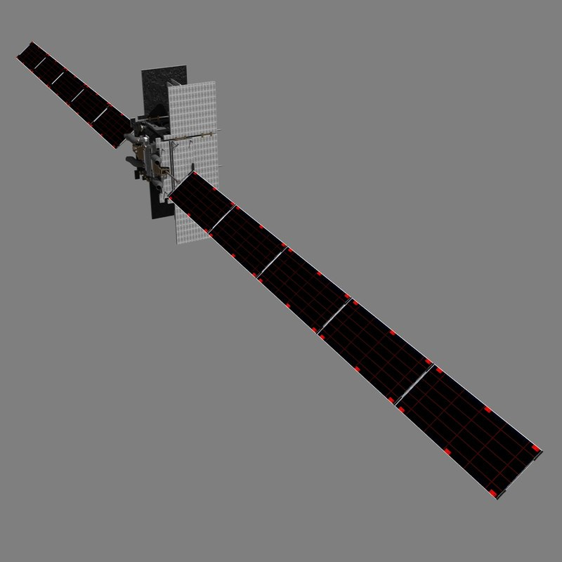 3d global satcom model