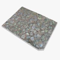 3d scanned garden stones