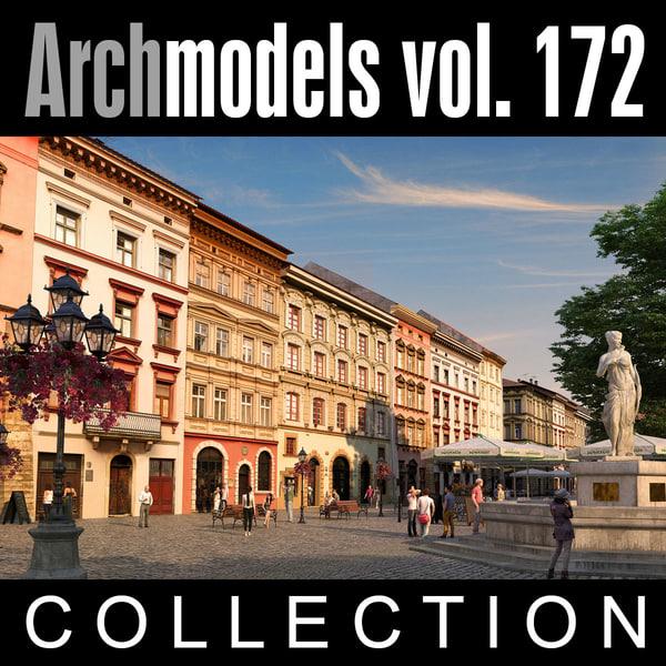 archmodels vol 172 3d model
