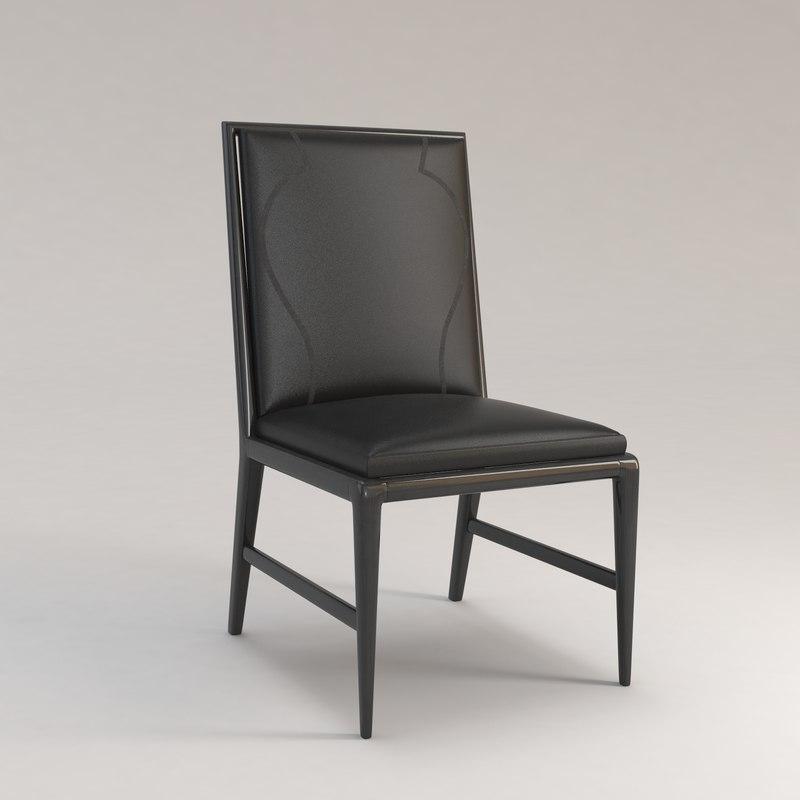 infante chair christian liaigre 3d max