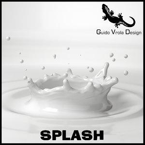 milk splash 3d 3ds