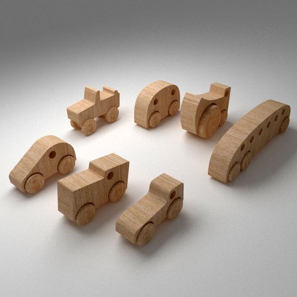 3d model wood wooden
