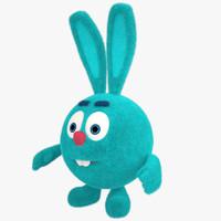 3d model rabbit toy